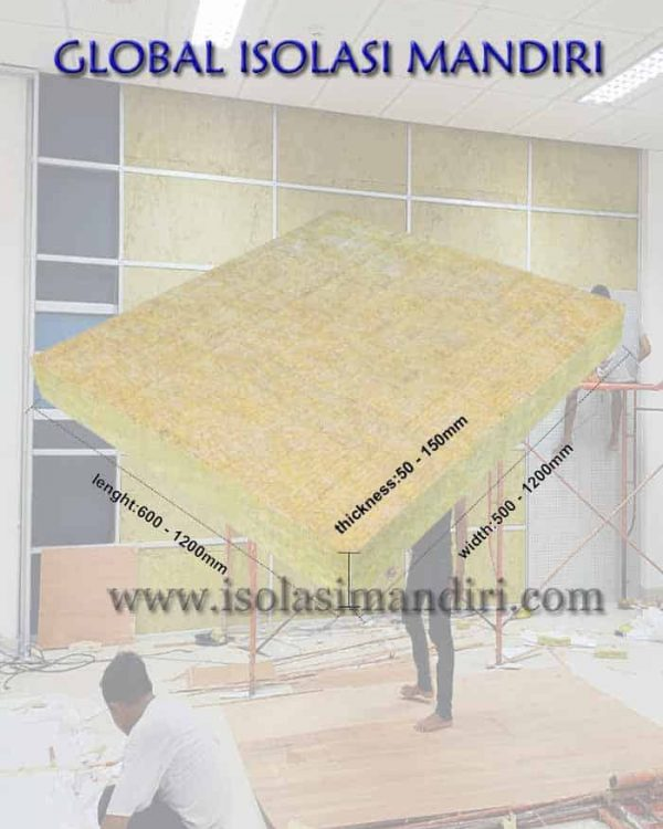 Rockwool Slab D80